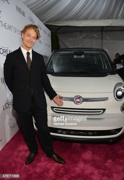 Actor Alfie Allen attends DJ Night with L'Oreal Paris during Vanity Fair Campaign Hollywood at Sadie Kitchen and Lounge on February 28 2014 in Los...