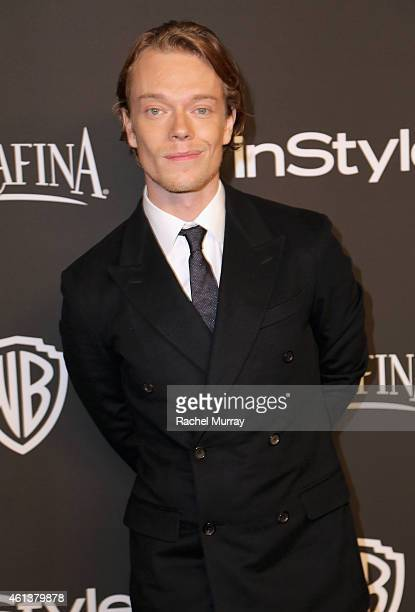 Actor Alfie Allen attends the 2015 InStyle And Warner Bros 72nd Annual Golden Globe Awards PostParty at The Beverly Hilton Hotel on January 11 2015...