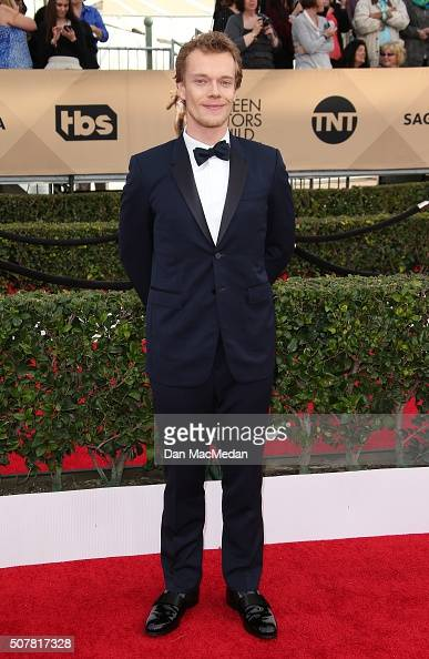 Actor Alfie Allen attends the 22nd Annual Screen Actors Guild Awards at The Shrine Auditorium on January 30 2016 in Los Angeles California