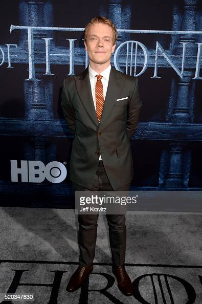 Actor Alfie Allen attends the premiere for the sixth season of HBO's 'Game Of Thrones' at TCL Chinese Theatre on April 10 2016 in Hollywood City