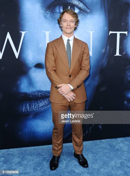 Actor Alfie Allen attends the season 7 premiere of 'Game Of Thrones' at Walt Disney Concert Hall on July 12 2017 in Los Angeles California