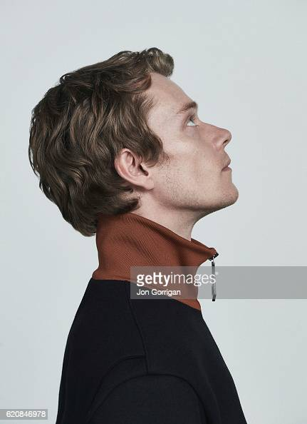 Actor Alfie Allen is photographed for the Observer on August 10 2016 in London England