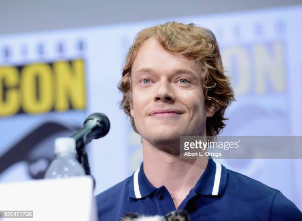 Actor Alfie Allen speaks onstage at ComicCon International 2017 'Game Of Thrones' panel And QA Session at San Diego Convention Center on July 21 2017...