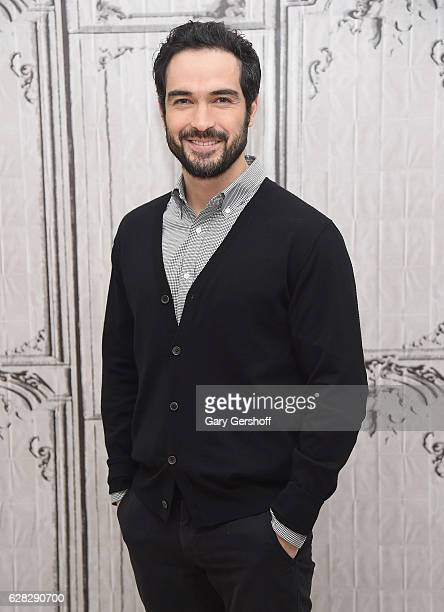 Actor Alfonso Herrera attends the Build Series to discuss the FOX drama 'The Exorcist' at AOL HQ on December 7 2016 in New York City