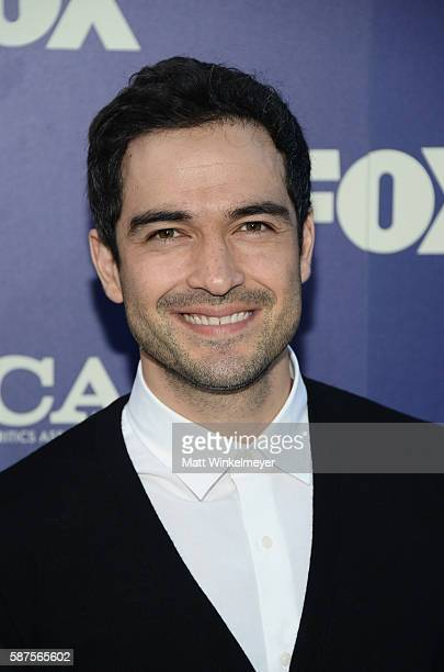 Actor Alfonso Herrera attends the FOX Summer TCA Press Tour on August 8 2016 in Los Angeles California