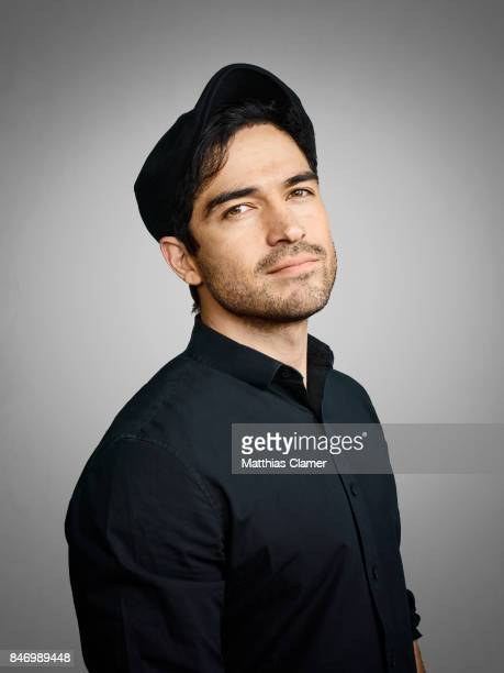 Actor Alfonso Herrera from 'Exorcist' is photographed for Entertainment Weekly Magazine on July 22 2016 at Comic Con in the Hard Rock Hotel in San...
