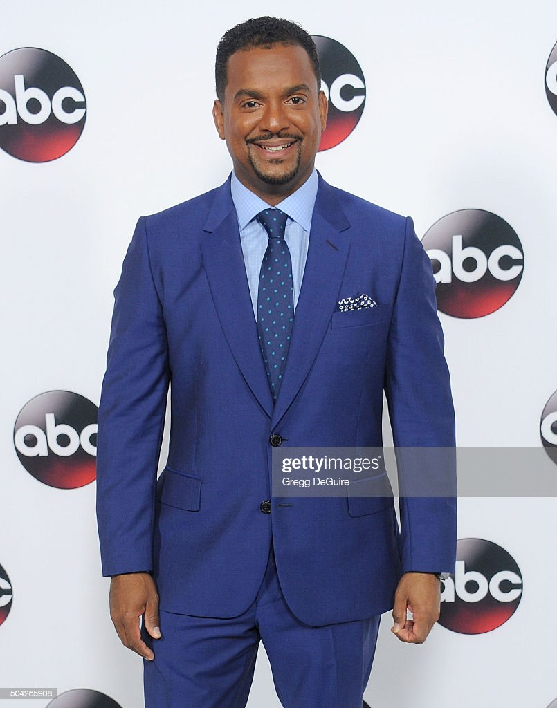 Actor <a gi-track='captionPersonalityLinkClicked' href=/galleries/search?phrase=Alfonso+Ribeiro&family=editorial&specificpeople=628950 ng-click='$event.stopPropagation()'>Alfonso Ribeiro</a> arrives at the 2016 Winter TCA Tour - Disney/ABC at Langham Hotel on January 9, 2016 in Pasadena, California.