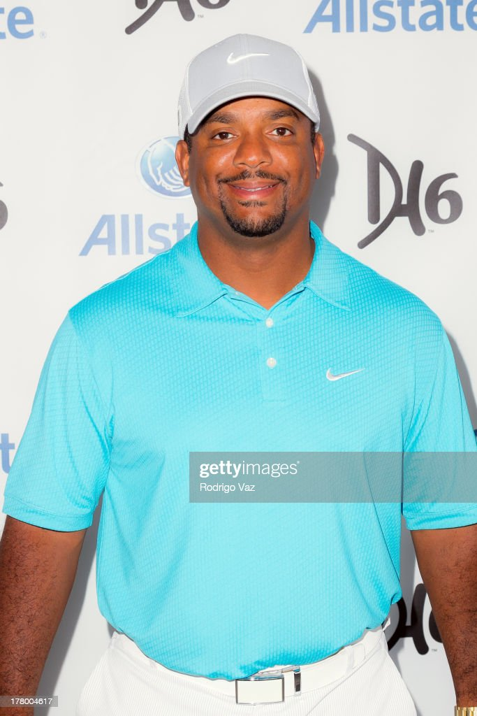 Actor <a gi-track='captionPersonalityLinkClicked' href=/galleries/search?phrase=Alfonso+Ribeiro&family=editorial&specificpeople=628950 ng-click='$event.stopPropagation()'>Alfonso Ribeiro</a> attends the 2nd Annual Dennis Haysbert Humanitarian Foundation Celebrity Golf Classic at Lakeside Golf Club on August 26, 2013 in Burbank, California.