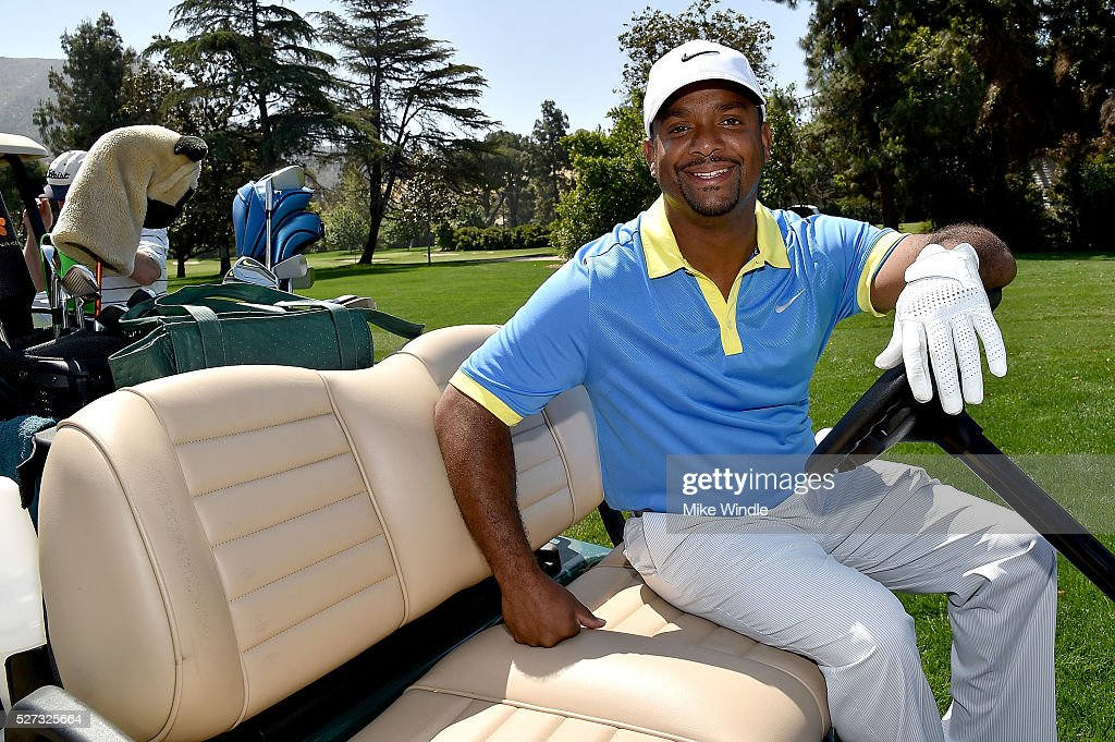 Actor Alfonso Ribeiro attends the 9th Annual George Lopez Celebrity Golf Classic to benefit The George Lopez Foundation at Lakeside Golf Club on May 2, 2016 in Burbank, California.