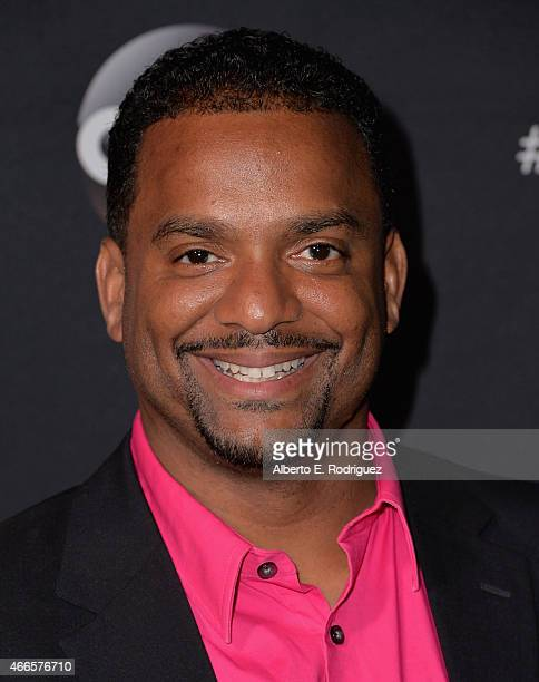 Actor Alfonso Ribeiro attends the premiere of ABC's 'Dancing With The Stars' season 20 at HYDE Sunset Kitchen Cocktails on March 16 2015 in West...