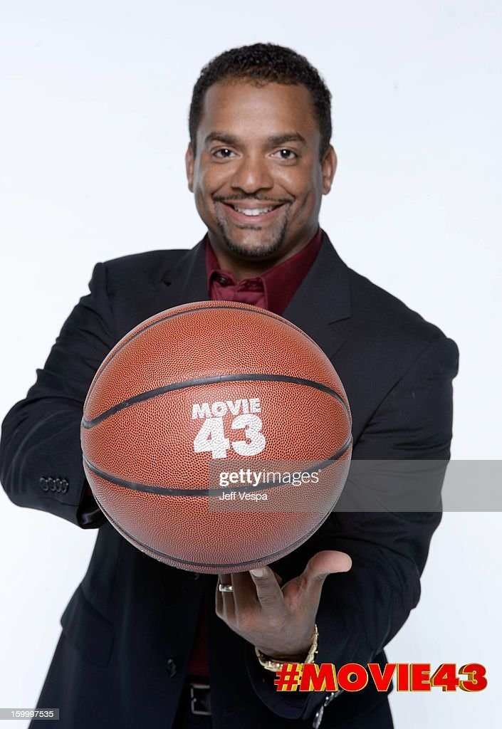 Actor <a gi-track='captionPersonalityLinkClicked' href=/galleries/search?phrase=Alfonso+Ribeiro&family=editorial&specificpeople=628950 ng-click='$event.stopPropagation()'>Alfonso Ribeiro</a> poses for a portrait during Relativity Media's 'Movie 43' Los Angeles premiere at TCL Chinese Theatre on January 23, 2013 in Hollywood, California.