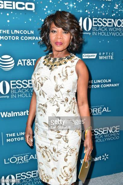 Actor Alfre Woodard at Essence Black Women in Hollywood Awards at the Beverly Wilshire Four Seasons Hotel on February 23 2017 in Beverly Hills...