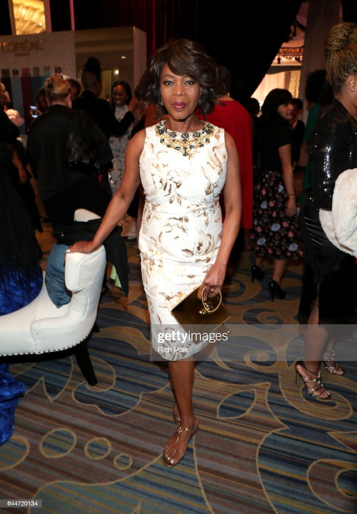 Actor Alfre Woodard at Essence Black Women in Hollywood Awards at the Beverly Wilshire Four Seasons Hotel on February 23, 2017 in Beverly Hills, California.
