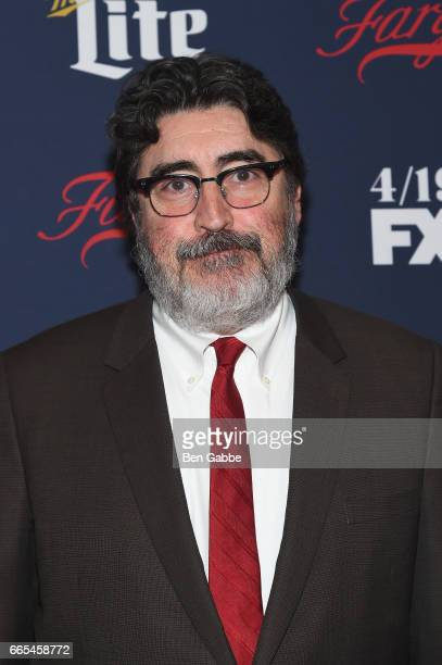 Actor Alfred Molina attends FX Network 2017 AllStar Upfront at SVA Theater on April 6 2017 in New York City