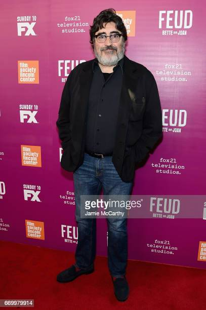 Actor Alfred Molina attends the 'Feud Bette And Joan' NYC Event at Alice Tully Hall at Lincoln Center on April 18 2017 in New York City