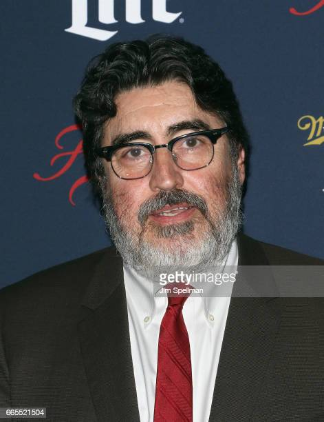 Actor Alfred Molina attends the FX Network 2017 AllStar Upfront at SVA Theater on April 6 2017 in New York City