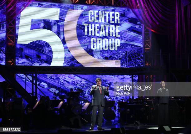 Actor Alfred Molina onstage at the Center Theatre Group 50th Anniversary Celebration at Ahmanson Theatre on May 20 2017 in Los Angeles California