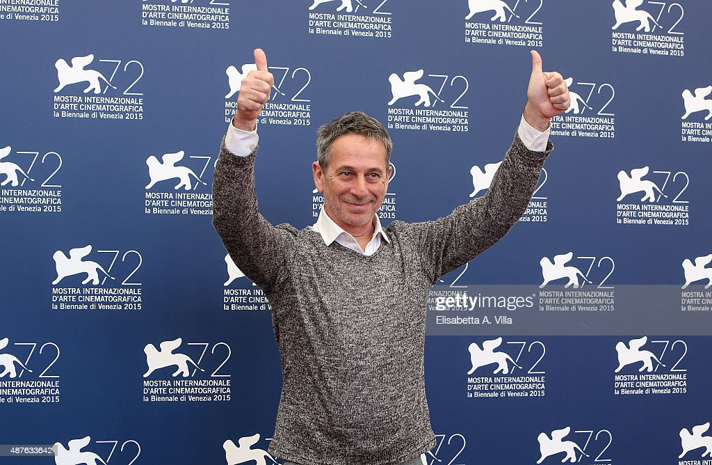 Actor <a gi-track='captionPersonalityLinkClicked' href=/galleries/search?phrase=Alfredo+Castro&family=editorial&specificpeople=7173146 ng-click='$event.stopPropagation()'>Alfredo Castro</a> attends a photocall for 'From Afar' during the 72nd Venice Film Festival at Palazzo del Casino on September 10, 2015 in Venice, Italy.