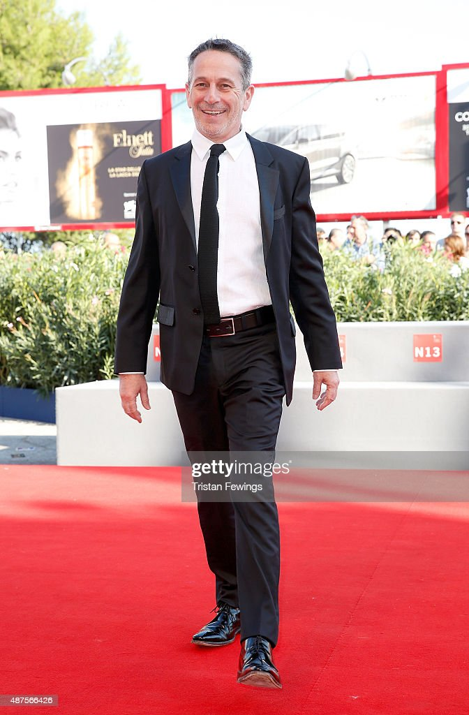 Actor <a gi-track='captionPersonalityLinkClicked' href=/galleries/search?phrase=Alfredo+Castro&family=editorial&specificpeople=7173146 ng-click='$event.stopPropagation()'>Alfredo Castro</a> attends a premiere for 'From Afar' during the 72nd Venice Film Festival at Sala Grande on September 10, 2015 in Venice, Italy.