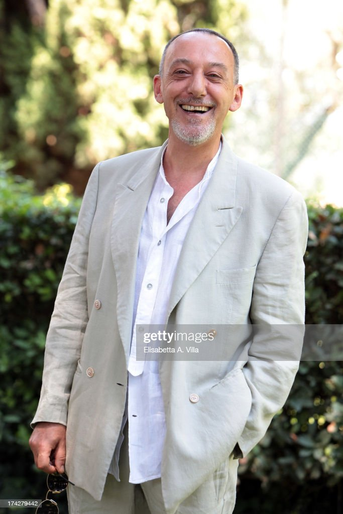 Actor Alfredo Pea attends 'La Tre Rose Di Eva 2' photocall at Mediaset Studios on July 23, 2013 in Rome, Italy.
