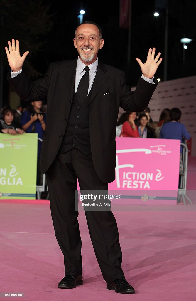 Actor Alfredo Pea attends the 2012 RomaFictionFest Closing Cerimony at Auditorium Parco della Musica on October 5, 2012 in Rome, Italy.