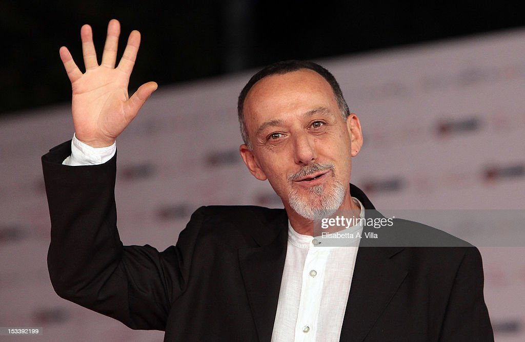 Actor Alfredo Pea attends 'Trilussa, Storia d'Amore e di Poesia' premiere during the 2012 RomaFictionFest at Auditorium Parco della Musica on October 4, 2012 in Rome, Italy.