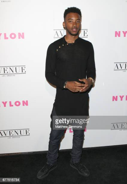 Actor Algee Smith attends NYLON's Annual Young Hollywood May Issue Event at Avenue on May 2 2017 in Los Angeles California