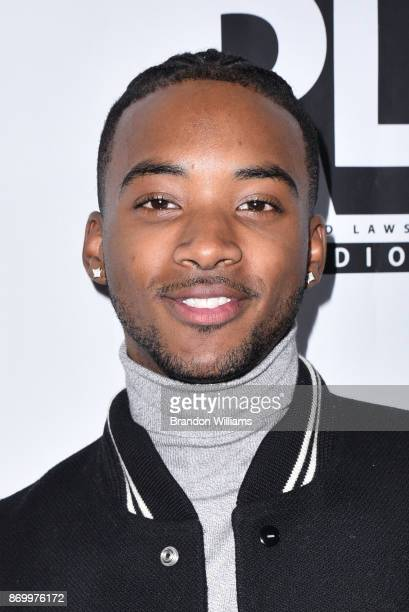 Actor Algee Smith attends the WACO Theater Grand Opening at WACO Theater Center on November 3 2017 in Los Angeles California