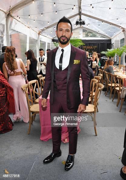 Actor Ali Kazmi attends the Holt Renfrew cast dinner for 'Beeba Boys' during the 2015 Toronto International Film Festival at The Mongrel House on...