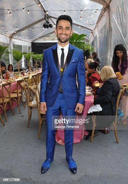 Actor Ali Momen attends the Holt Renfrew cast dinner for 'Beeba Boys' during the 2015 Toronto International Film Festival at The Mongrel House on...