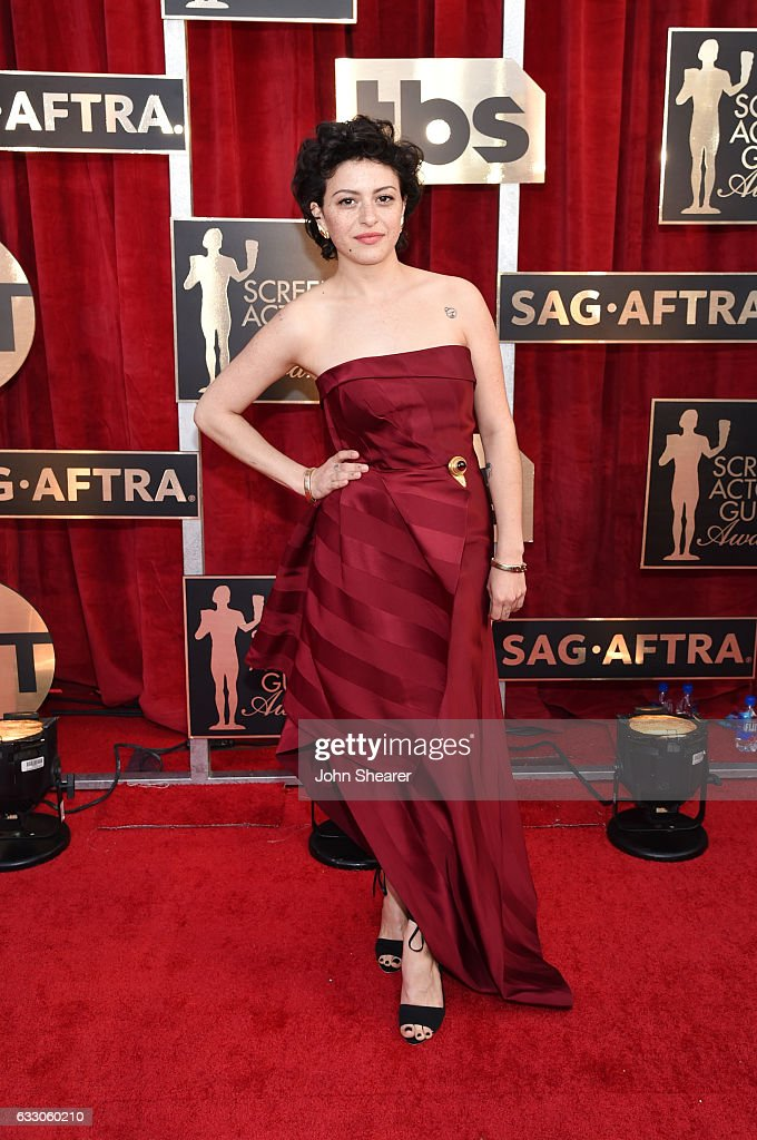 Actor Alia Shawkat attends The 23rd Annual Screen Actors Guild Awards at The Shrine Auditorium on January 29, 2017 in Los Angeles, California.
