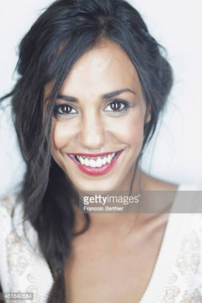 Actor Alice Belaidi is photographed in Caen France