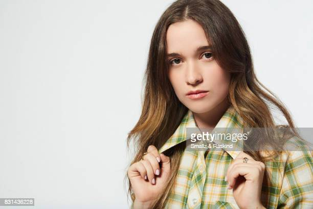 Actor Alice Englert of SundanceTV's 'Top of the Lake China Girl' poses for a portrait during the 2017 Summer Television Critics Association Press...