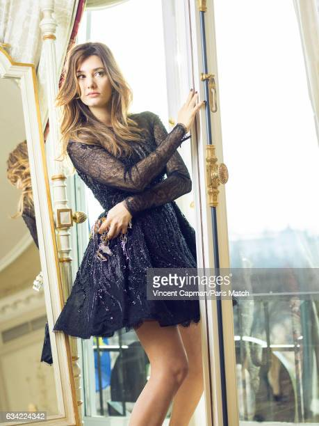 Actor Alice Pol is photographed for Paris Match on December 15 2016 in Paris France