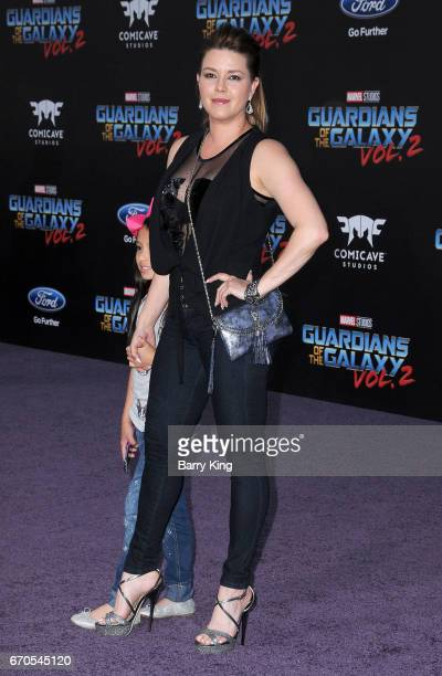Actor Alicia Machado attends world premiere of Disney and Marvel's' 'Guardians Of The Galaxy 2' at Dolby Theatre on April 19 2017 in Hollywood...