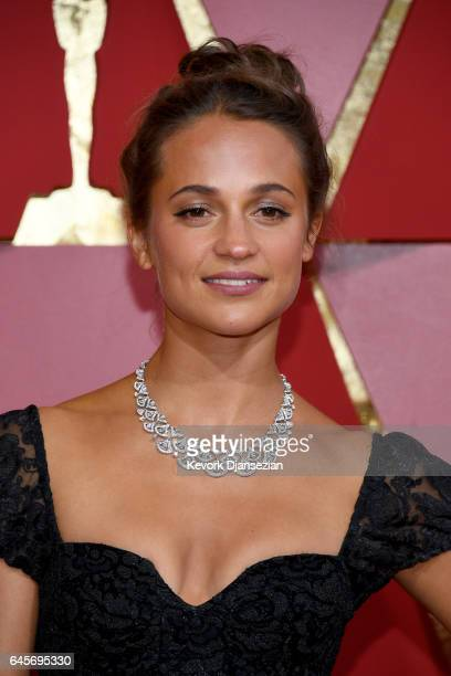 Actor Alicia Vikander attends the 89th Annual Academy Awards at Hollywood Highland Center on February 26 2017 in Hollywood California