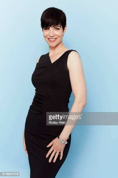 Actor Alisen Down from Syfy's '12 Monkeys' poses for a portrait during ComicCon 2017 at Hard Rock Hotel San Diego on July 20 2017 in San Diego...