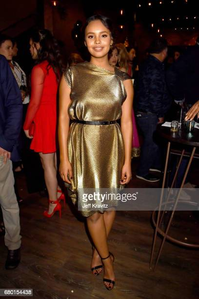 Actor Alisha Boe attends the 2017 MTV Movie And TV Awards at The Shrine Auditorium on May 7 2017 in Los Angeles California
