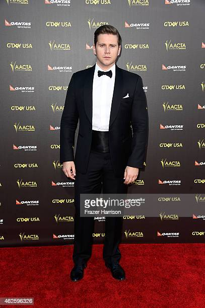 Actor Allen Leech arrives at the 2015 G'Day USA Gala Featuring The AACTA International Awards Presented By QANTAS at the Hollywood Palladium on...