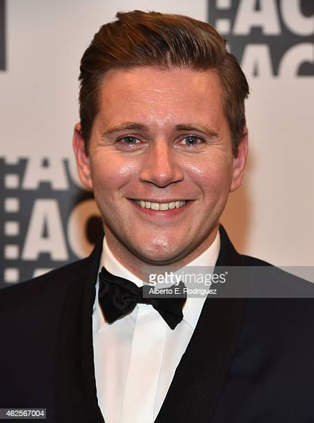 Actor Allen Leech attend the 65th Annual ACE Eddie Awards at The Beverly Hilton Hotel on January 30 2015 in Beverly Hills California