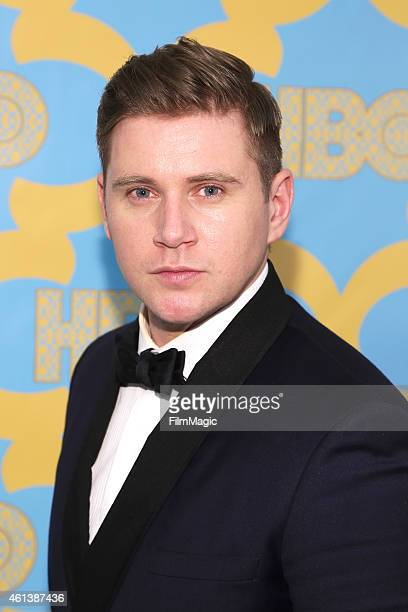 Actor Allen Leech attends HBO's Official Golden Globe Awards After Party at The Beverly Hilton Hotel on January 11 2015 in Beverly Hills California