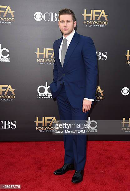 Actor Allen Leech attends the 18th Annual Hollywood Film Awards at The Palladium on November 14 2014 in Hollywood California