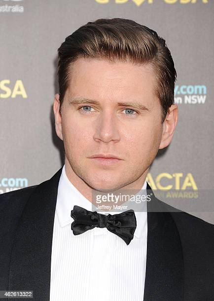 Actor Allen Leech attends the 2015 G'Day USA Gala featuring the AACTA International Awards presented by Qantas at Hollywood Palladium on January 31...