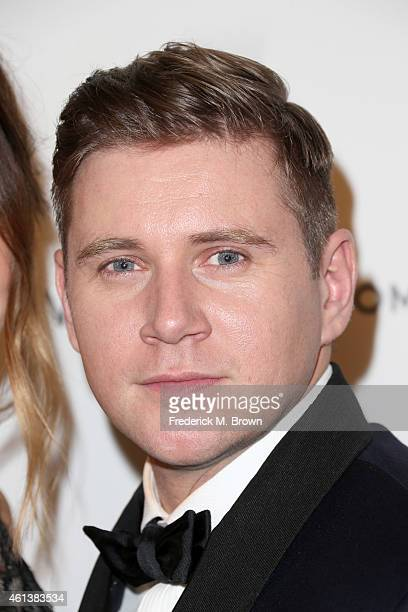 Actor Allen Leech attends the 2015 Weinstein Company and Netflix Golden Globes After Party at Robinsons May Lot on January 11 2015 in Beverly Hills...