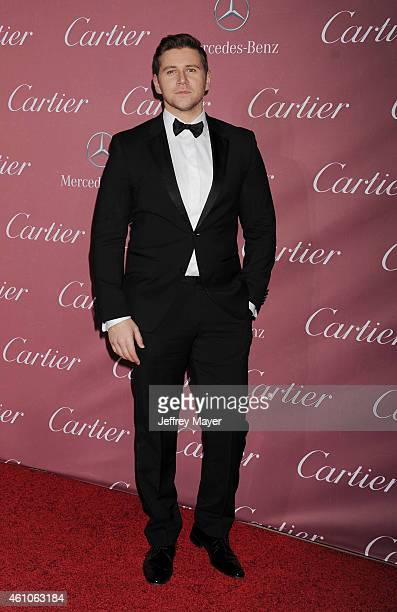 Actor Allen Leech attends the 26th Annual Palm Springs International Film Festival Awards Gala at the Palm Springs Convention Center on January 3...