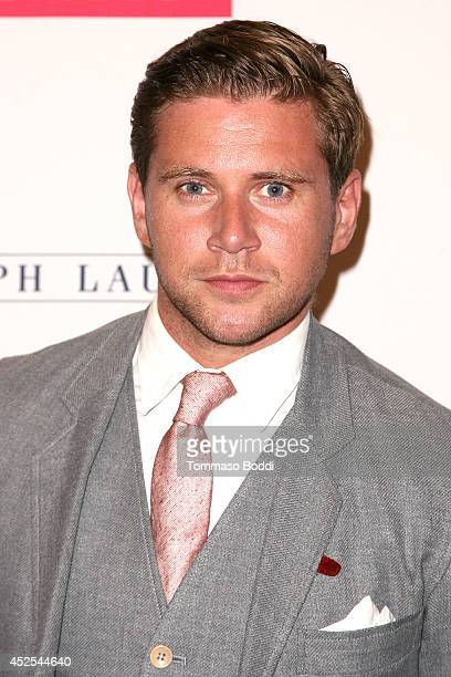 Actor Allen Leech attends the 'Downton Abbey' Los Angeles photo call held at The Beverly Hilton Hotel on July 22 2014 in Beverly Hills California