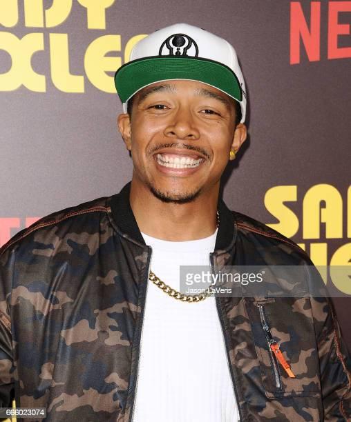 Actor Allen Maldonado attends the premiere of 'Sandy Wexler' at ArcLight Cinemas Cinerama Dome on April 6 2017 in Hollywood California