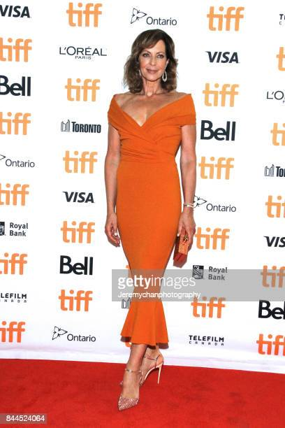 Actor Allison Janney attends the 'I Tonya' Premiere during the 2017 Toronto International Film Festival held at Princess of Wales Theatre on...