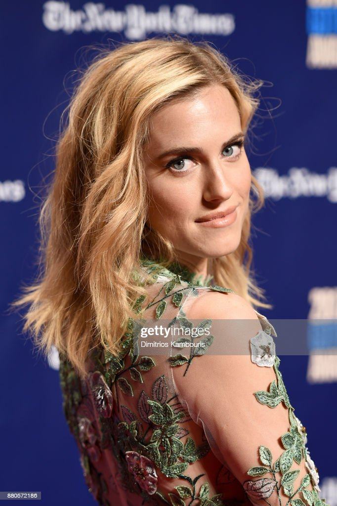 Actor Allison Williams attends IFP's 27th Annual Gotham Independent Film Awards on November 27, 2017 in New York City.