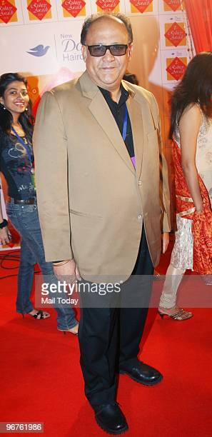 Actor Alok Nath at the Zee Rishtey awards in Mumbai on Saturday February 13 2010